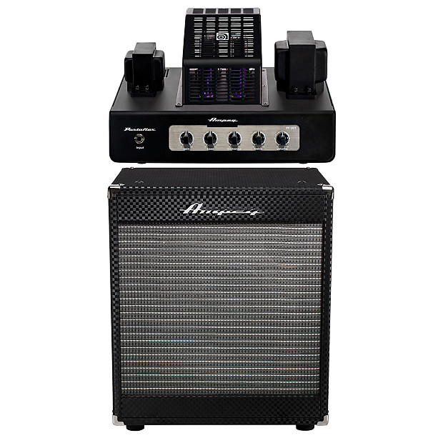 ampeg pf 112hlf cabinet with pf 20t all tube amp head reverb. Black Bedroom Furniture Sets. Home Design Ideas