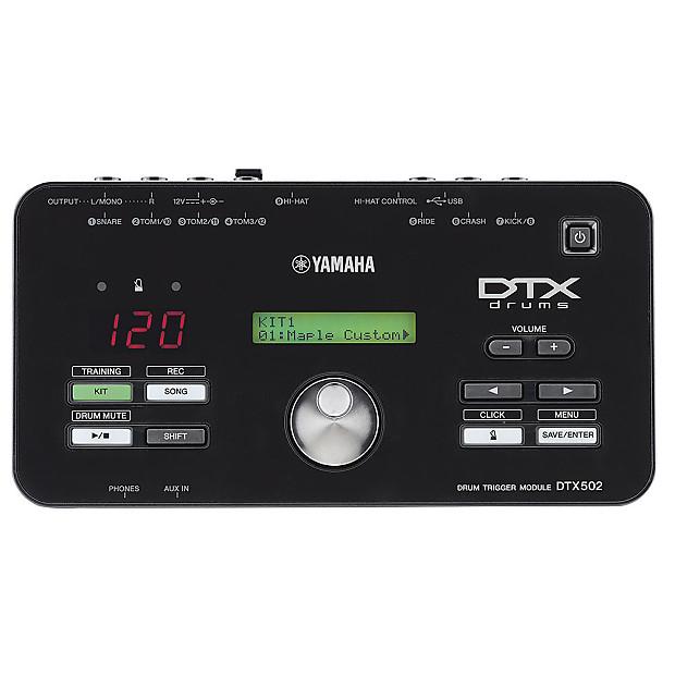 yamaha dtx502 electronic drum trigger module reverb. Black Bedroom Furniture Sets. Home Design Ideas