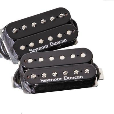 Seymour Duncan TB-4 JB Trembucker & SH-2n Jazz Hot Rodded Humbucker Black Guitar  Pickup Set
