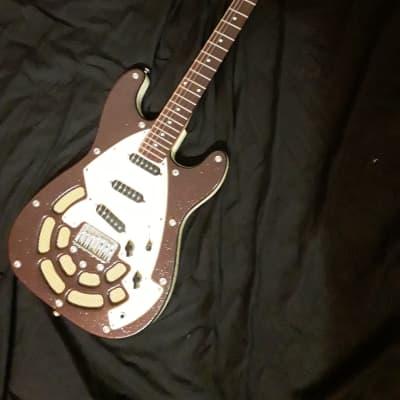 Lindert Locomotive USA model RARE guitar! for sale