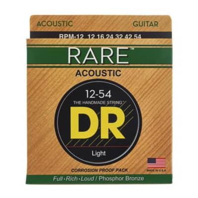 DR Strings Rare RPM-12 12-54 Acoustic Strings
