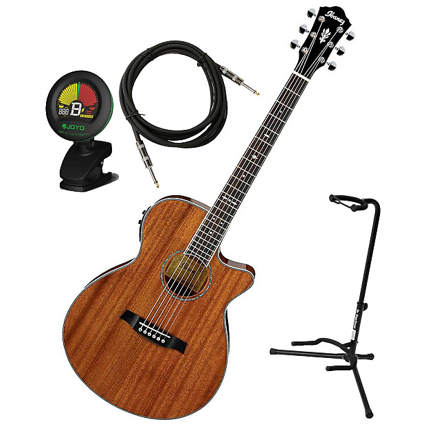 ibanez aeg12ii hg acoustic electric guitar bundle reverb. Black Bedroom Furniture Sets. Home Design Ideas