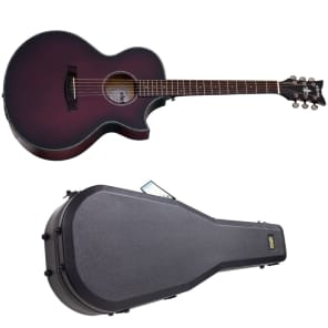 Schecter Orleans Stage Acoustic Vampyre Red Burst Satin Vrbs B-stock Ae Guitar Big Clearance Sale Musical Instruments & Gear Guitars & Basses