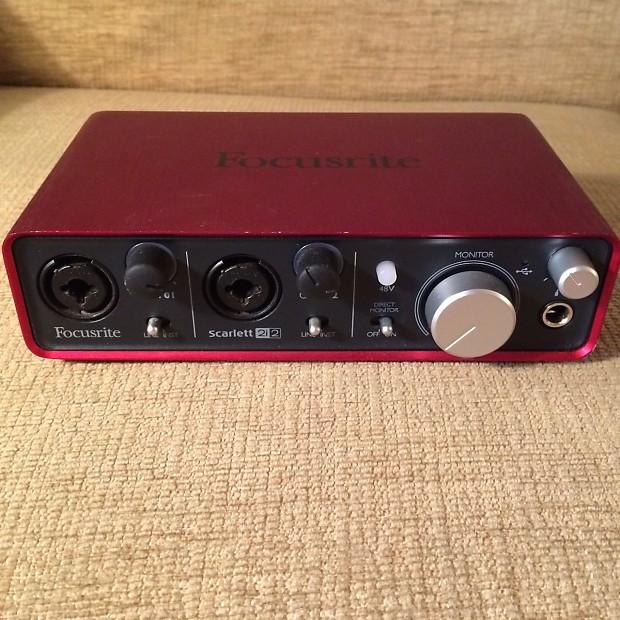 focusrite scarlett 2i2 usb audio interface reverb. Black Bedroom Furniture Sets. Home Design Ideas