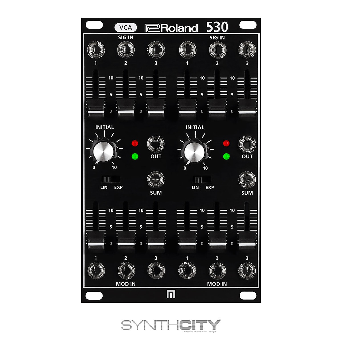 Roland System 500 530 Dual VCA - Synthesthesia 2020