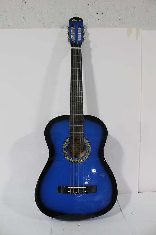 crescent blue acoustic guitar palmetto goodwill reverb. Black Bedroom Furniture Sets. Home Design Ideas