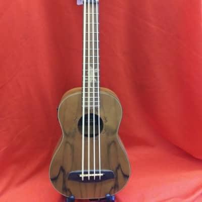 Ortega Lizzy-bs-gb Uke Bass   Mahogany Top w/ Gig Bag for sale