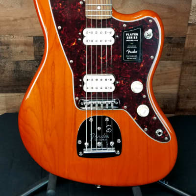 2019 Limited Fender Player Jazzmaster Aged Natural Electric Guitar, Auth Dealer