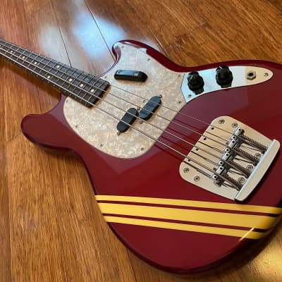Fender Mustang Bass Competition CIJ S-Serial 2005 Old Candy Apple Red for sale