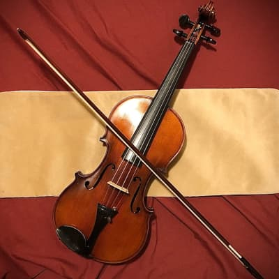 Lyon&Healy 1920 (ANTIQUE!) German 4/4 Violin COMPLETE OUTFIT