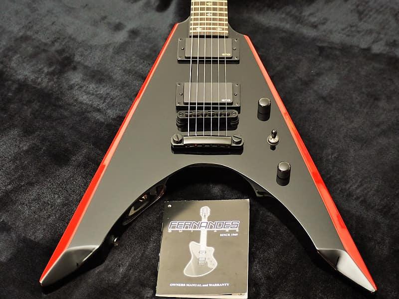 Fernandes Vortex Deluxe Limited 2011 Black & Red image