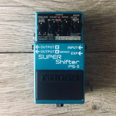 Boss PS-5 Super Shifter Pitch Shift Pedal