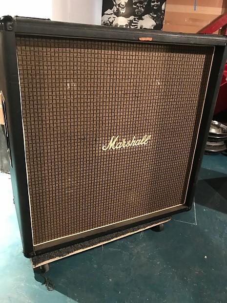 Marshall 4x15 4x15 Bass Cabinet 1970's Black   Philthy   Reverb