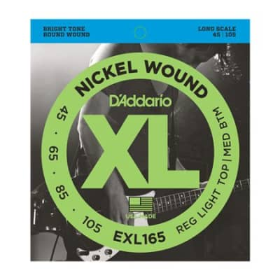 DAddario EXL165 XL Nickel Wound Long Scale Bass Strings