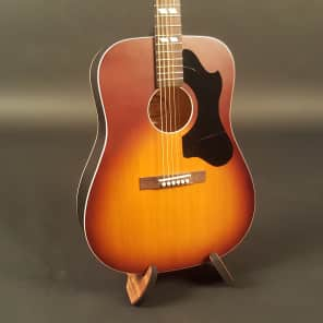 Recording King RDS-7-TS Dirty 30's Series 7 Dreadnought Acoustic Guitar Tobacco Sunburst