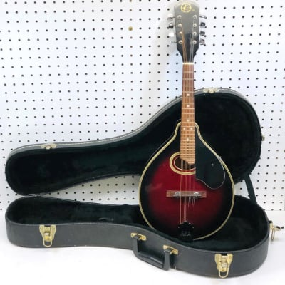 Pre-owned Kay Mandolin with Deluxe Plush Case - F1065 for sale