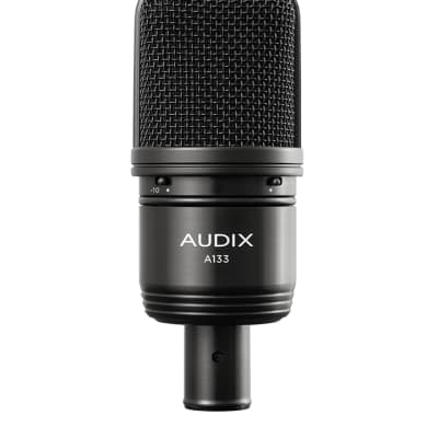 Audix A133 large diaphragm condenser microphone with pad and roll off