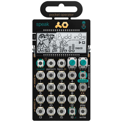 Teenage Engineering Pocket Operator PO-35 Speak Vocal Synth and Sequencer