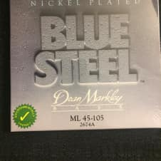 Dean Markley Dean Markley 2674A Blue Steel NPS Bass Strings, Medium Light (45-105)