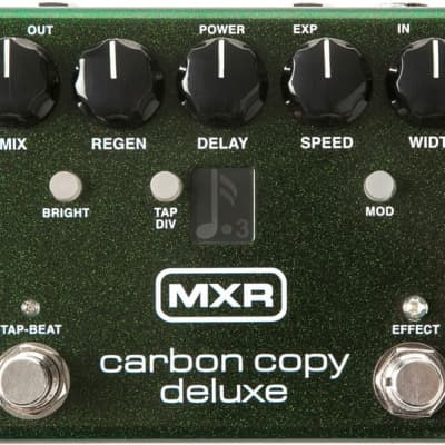 MXR M292 Carbon Copy Deluxe Delay Pedal with Modulation and Tap Tempo for sale