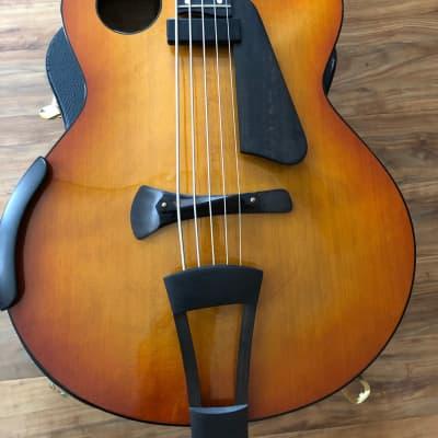 Ribbecke Halfling Bobby Vega 5 String Acoustic Electric Bass 2007 for sale