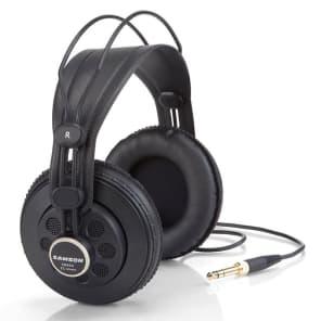 Samson C01/SR850 Condenser Mic/Semi-Open Back Over-ear Headphones Bundle