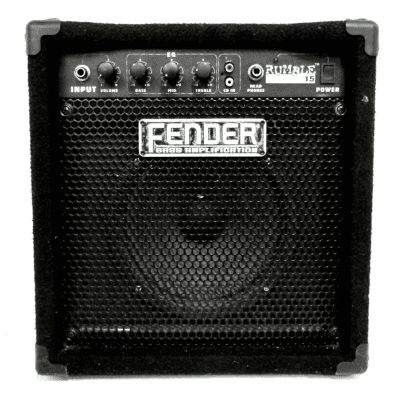 "Fender Rumble 15 15-Watt 1x8"" Bass Combo Amp"
