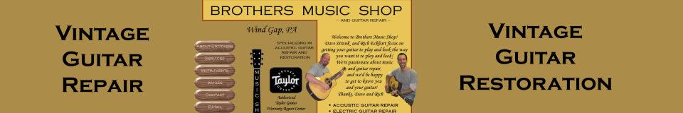 Brothers Music Shop and Guitar Repair