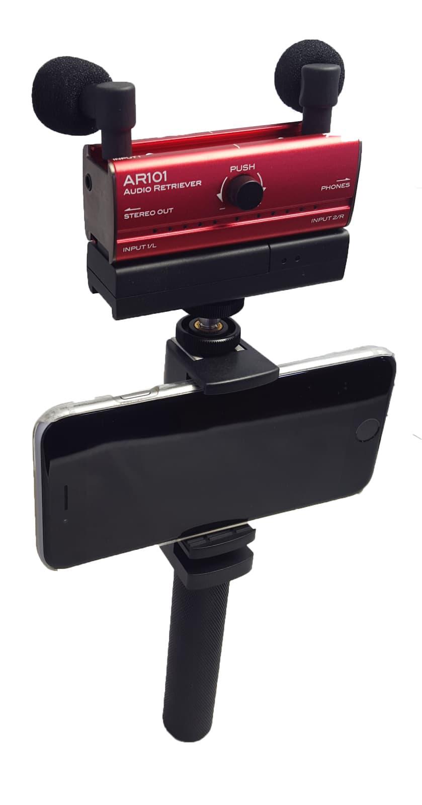 Fostex AR101L RED Audio Interface with Lightening ...