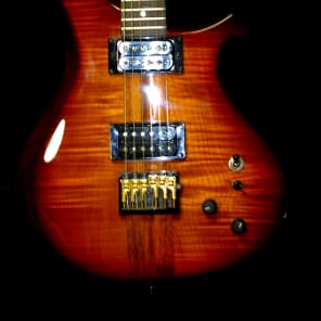 CP Thornton Custom 1990 Flame Koa.   #7 of original 13 guitars built by Thornton.  KOA wood. RARE. for sale