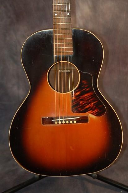 1938 montgomery wards carson j robison cowboy guitar sunburst reverb. Black Bedroom Furniture Sets. Home Design Ideas