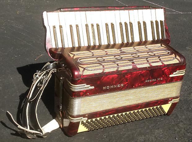 Hohner Regina Vi B Accordion 41 Note 120 Bass Reverb