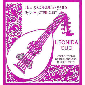 Savarez 5580 Leonida Double Length Nylon Oud Strings (5)
