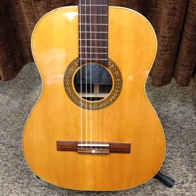 Musikalia Vintage Classical Nylon String Acoustic Guitar, Made in Italy for sale