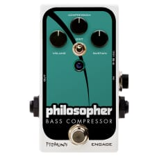 NEW OLD STOCK! Pigtronix Philosopher Bass Compressor