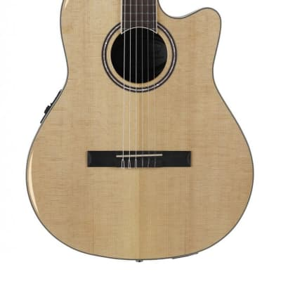 Applause AB24IIP-SPR Nylon Mid Depth Guitar - Solid Spruce for sale