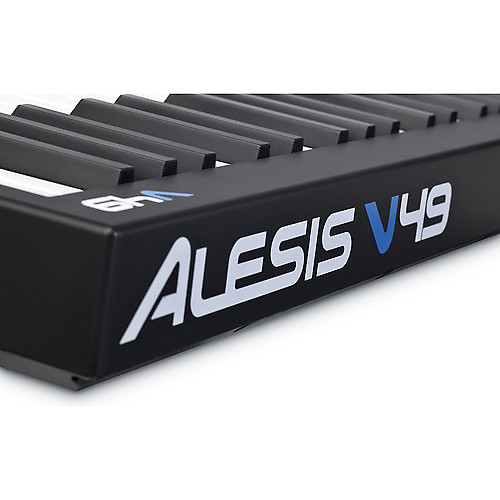 alesis v49 49 key usb midi keyboard drum pad controller reverb. Black Bedroom Furniture Sets. Home Design Ideas