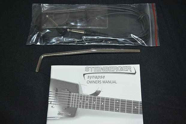 Steinberger Spirit Guitar Manual Steinberger Spirit Gt
