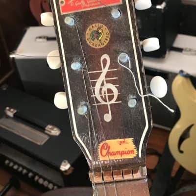Gallotone  Champion 1957 John Lennon Quarrymen Guitar for sale