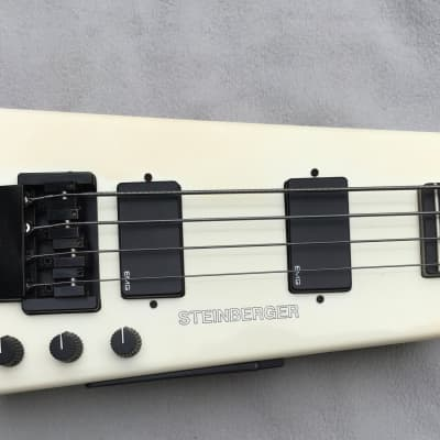Steinberger XL-2 1986 White for sale