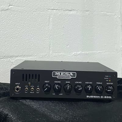 Mesa Boogie Subway D-800 Bass Amp Head 800 Watts w/ Gig-Bag + Free Shipping