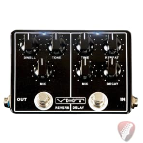 VHT EchoVerb Pedal Dual Pedal w/ Reverb and Delay
