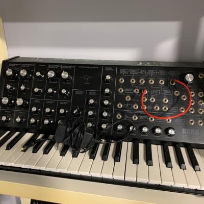 modded Korg MS-20 Mini Semi-Modular Analog Synthesizer