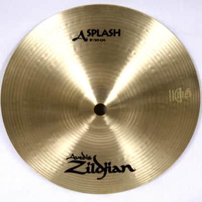"Zildjian 8"" A Series Splash Cymbal 1982 - 2012"