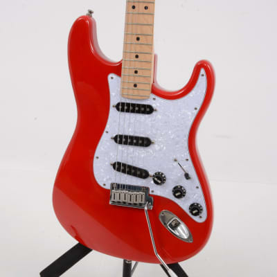 Vintage Fender 40th Anniversary American Stratocaster Lipstick Red for sale