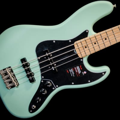 Fender American Performer Jazz Bass 2019 Satin Surf Green w/ Deluxe Gig Bag
