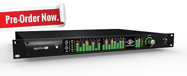 Universal Audio Apollo 16 Quad + Pro Tools 12 Bundle ...