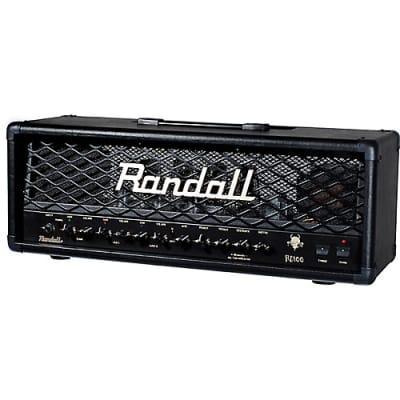 Randall RD100H Diavlo 3-Channel 100-Watt Tube Guitar Amp Head. Brand New!
