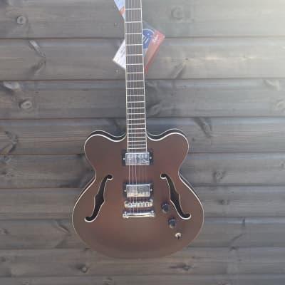 Hofner - Very Thin UK Exclusive - Semi Acoustic Guitar - Dark Satin for sale