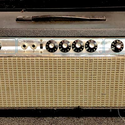 Fender Bassman 100 Head 1972? Black/Silverface